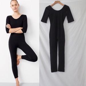 J CREW black bodysuit full length nwt XS 2017
